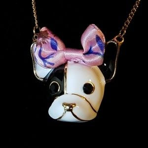 Betsey Johnson Jewelry - Betsey Johnson Dog Pendant Necklace